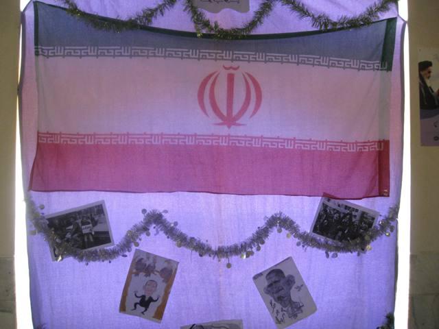 نمایشگاه فجر انقلاب -دبیرستان کیانی زاده- واحد مقاومت ام الائمه (س)